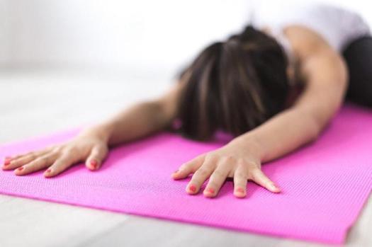 Pilates shell stretch